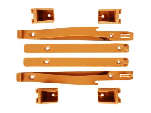 東莞滑軌生產廠家 美碩五金 五金 靜音 組合式 塑膠 三節滾珠