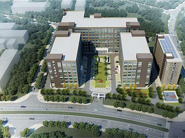 東莞市望牛墩金沙產業中心改造項目全景