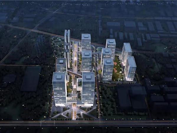 東莞興華工業園三舊改造一期項目現場環境