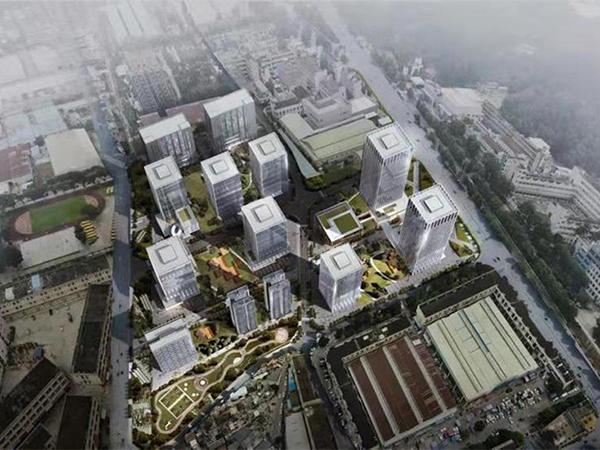 東莞興華工業園三舊改造一期項目全景