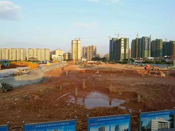 東莞市東城區凱晟景園施工項目