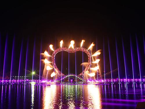 喷火(火球)喷泉