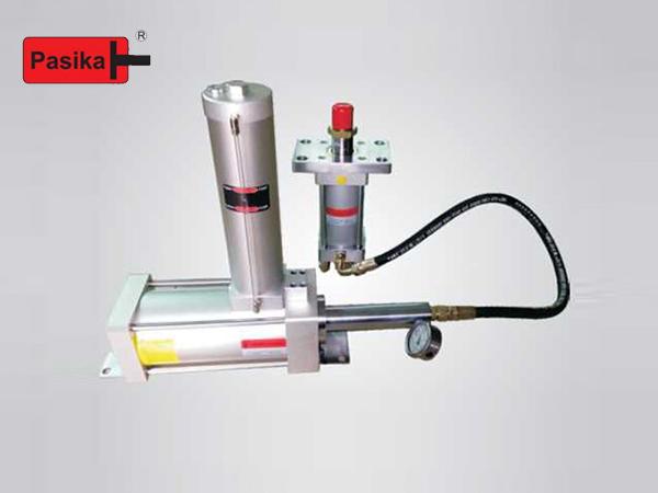 油压+增压器