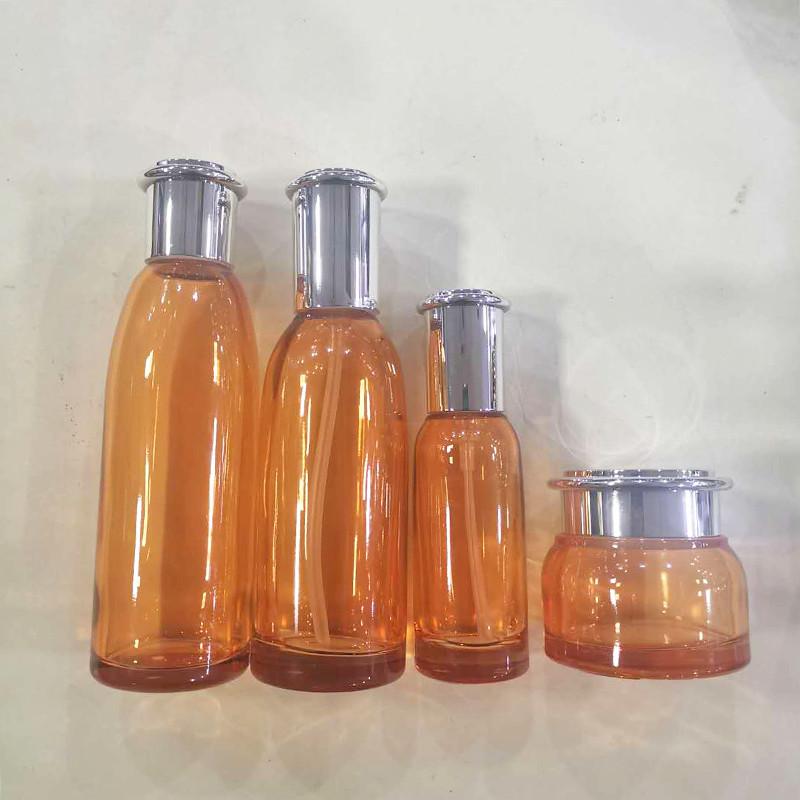 營養液化妝品套裝瓶批發商_鵬誠包材_護膚乳_女士_營養液_男士