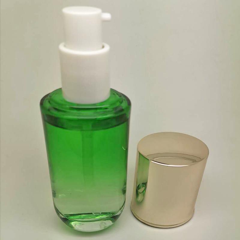 女士護膚品瓶生產_鵬誠包材_六角_亞克力_精華液_紫色_厚底