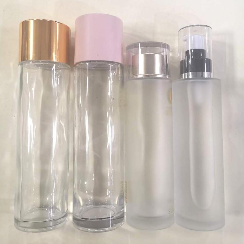 藍色護膚品瓶銷售_鵬誠包材_噴霧_面膜_精華液_創意_多面
