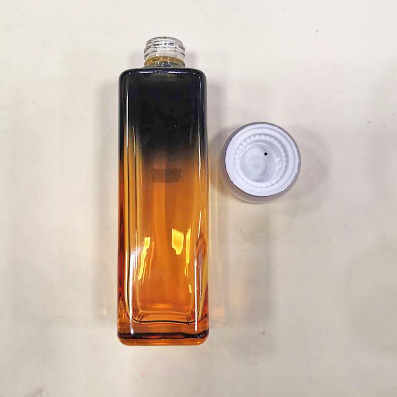 紫色化妝品瓶訂做_鵬誠包材_女士_多面_藍色_紫色_旅行_營養液