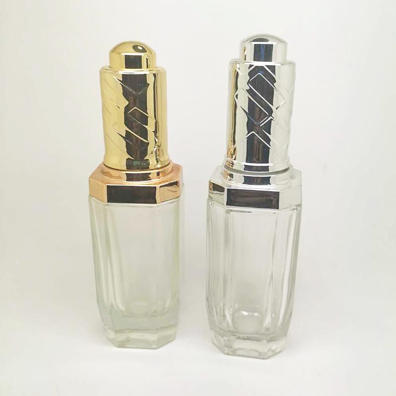 創意護膚品瓶銷售廠家_鵬誠包材_面霜_多面_面膜_套裝_紫色