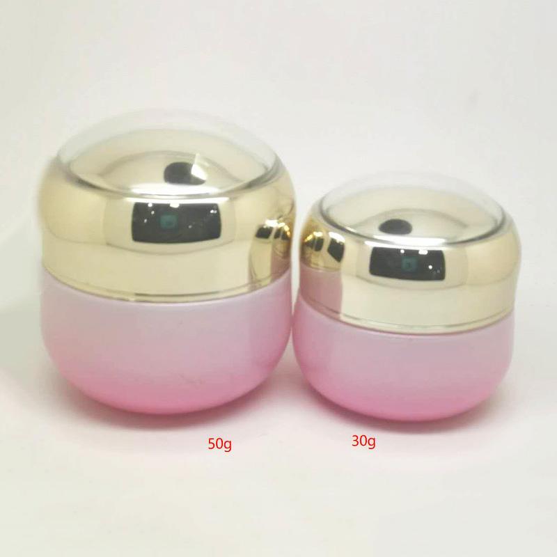 套装霜瓶厂家生产销售_鹏诚包材_精华液_粉底_营养液_玻璃