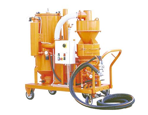 环保自动回收式喷砂机