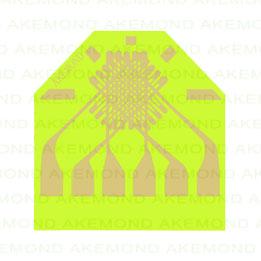 三轴应变片(1.7x1.7mm)