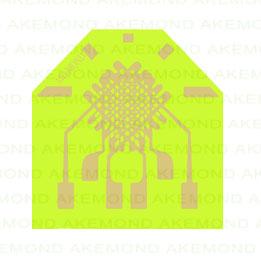 三轴应变片(2.5x2.7mm)