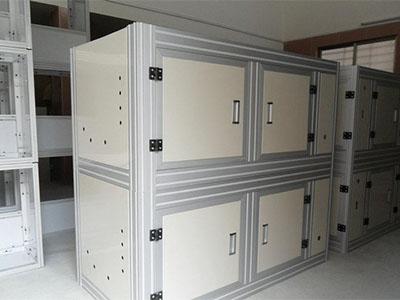 东莞工业铝型材机架钣金