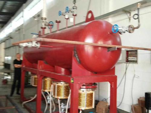 昌吉水务站电磁蒸汽锅炉