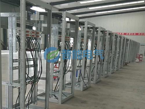 9600千瓦配电柜组装现场