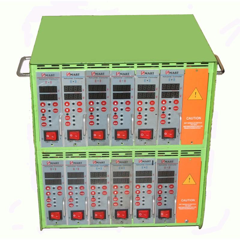 智能热流道温控箱产地_斯玛特热流道_高精度_插卡式_6点_单点