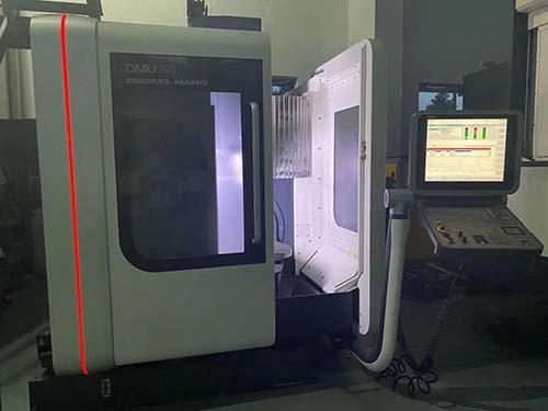 二手德国德马吉DMU50五轴联动数控加工中心