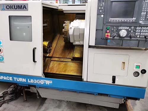 二手日本大畏OKUMA LB3000-P车铣复合数控车床