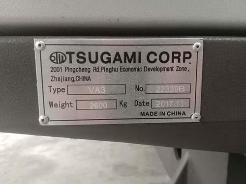 二手日本津上TSUGAMI CORP VA3钻攻机
