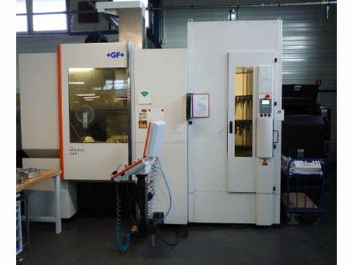 二手MIKRON HPM 800U 立式加工中心