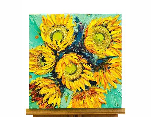 油畫UV浮雕打印