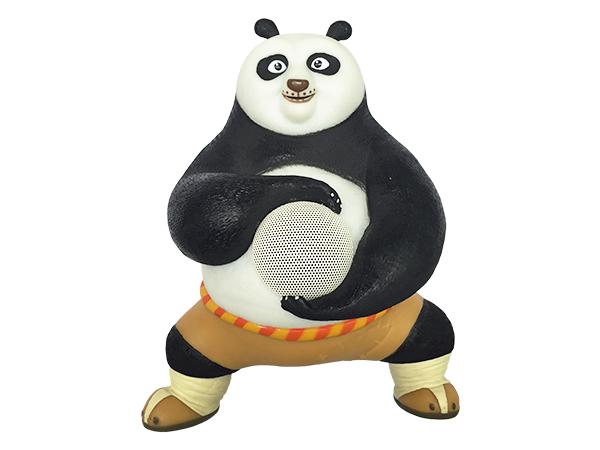 带夜灯熊猫蓝牙音箱