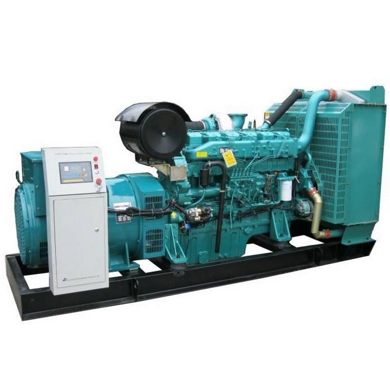 520kw柴油发电机组安装_启运环保机械_100kw_4105