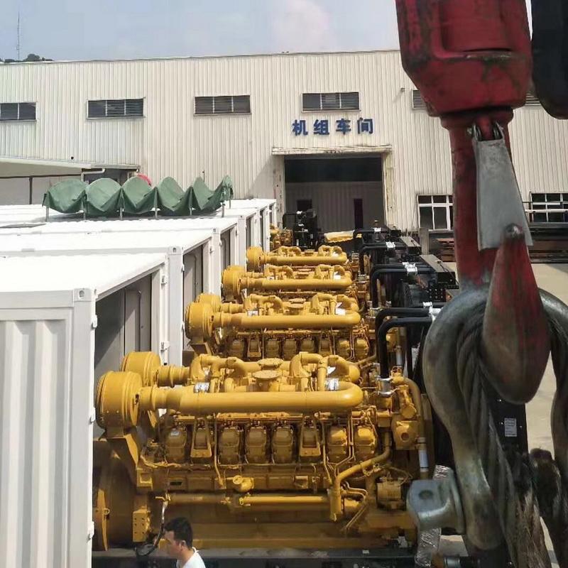 啟運環保機械_100kw_河北靜音柴油發電機組施工方案尺寸