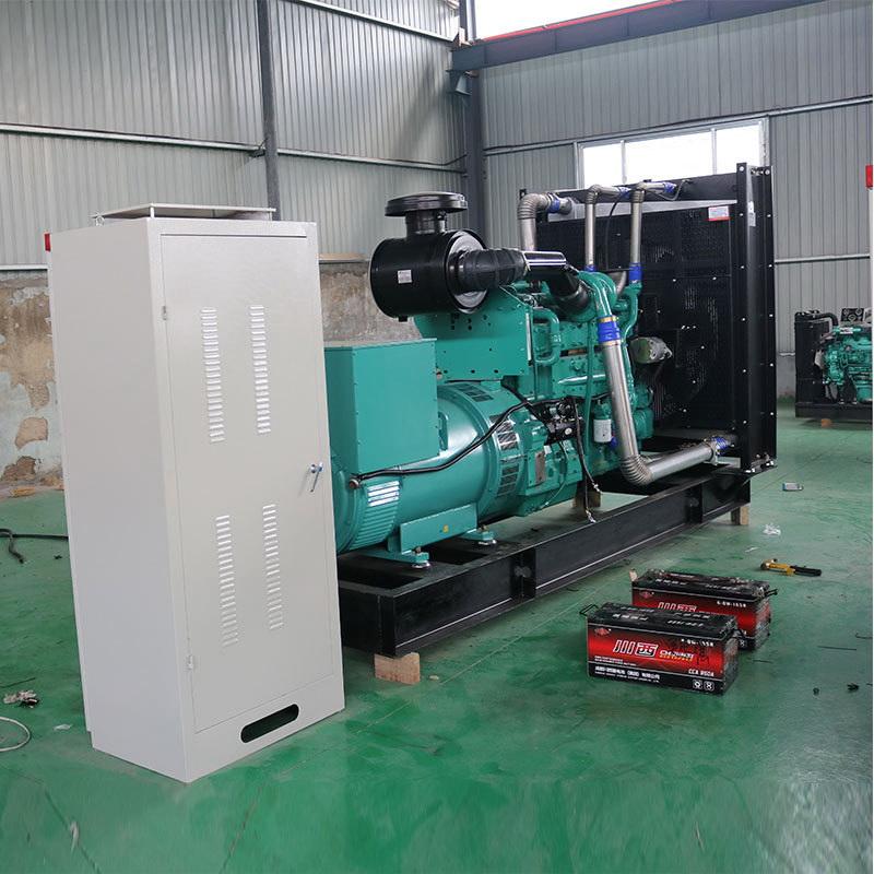 啟運環保機械_石家莊400千瓦柴油發電機組施工方案型號