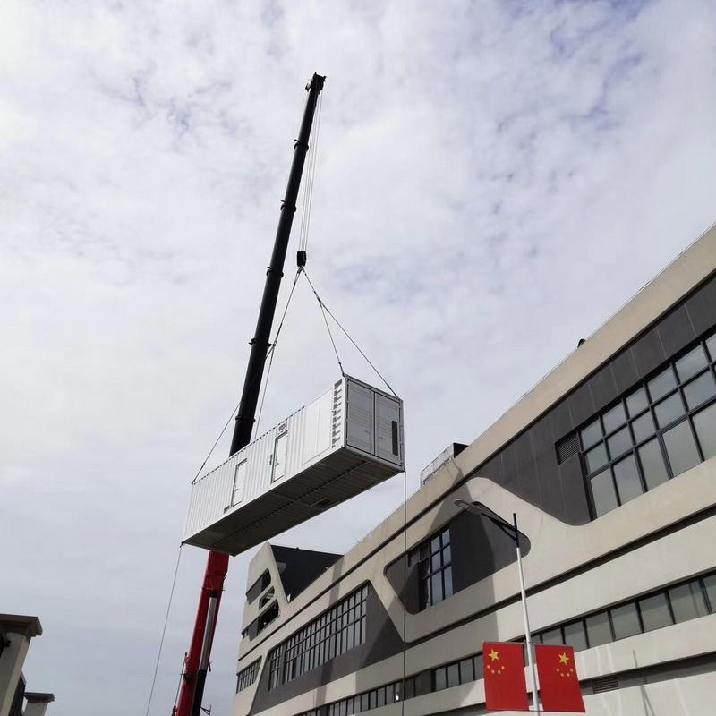 啟運環保機械_1500kw_河北靜音柴油發電機組施工方案安裝