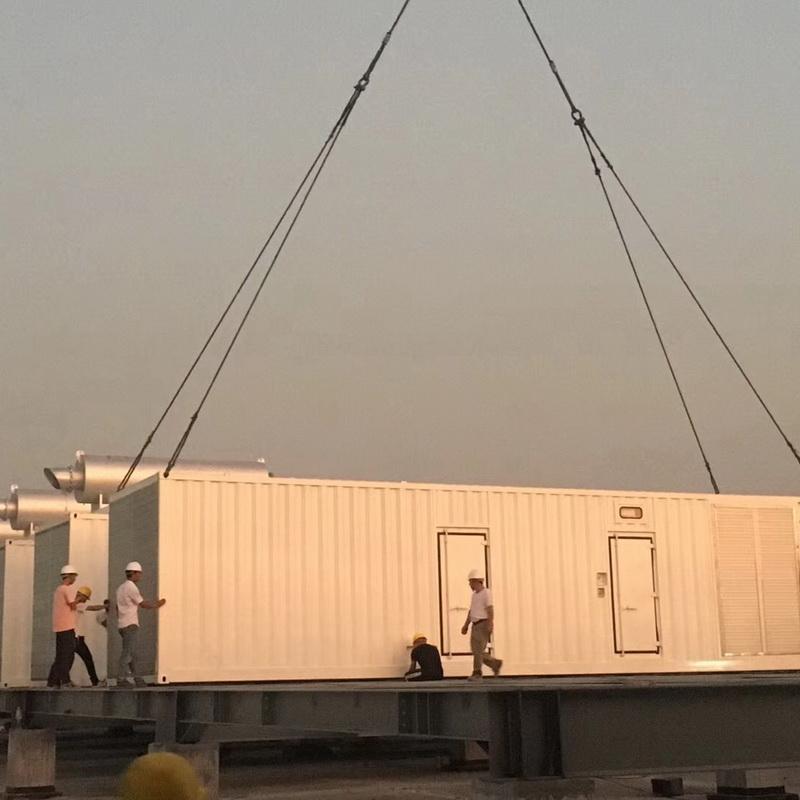 啟運環保機械_660kw_8000kw柴油發電機組施工方案價錢