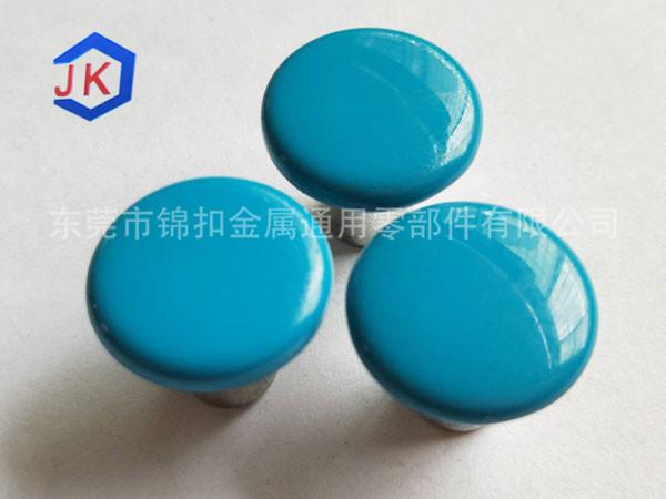 蓝色烤漆香菇扣