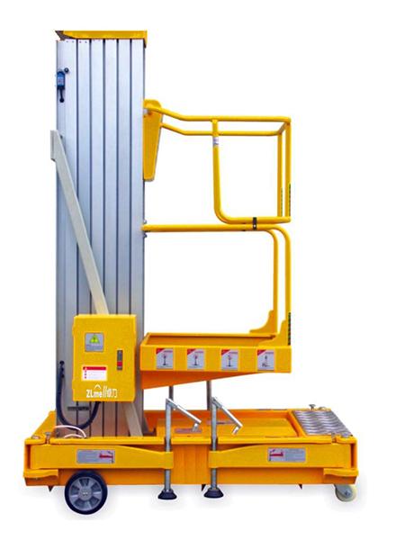 铝合金桅柱式升降机
