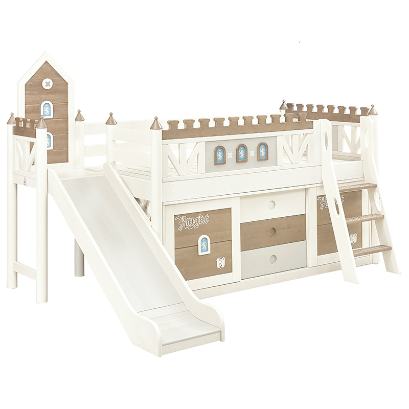 整體半高床生產銷售_龍辰家居_家庭_現代簡約_全屋定制_兒童房