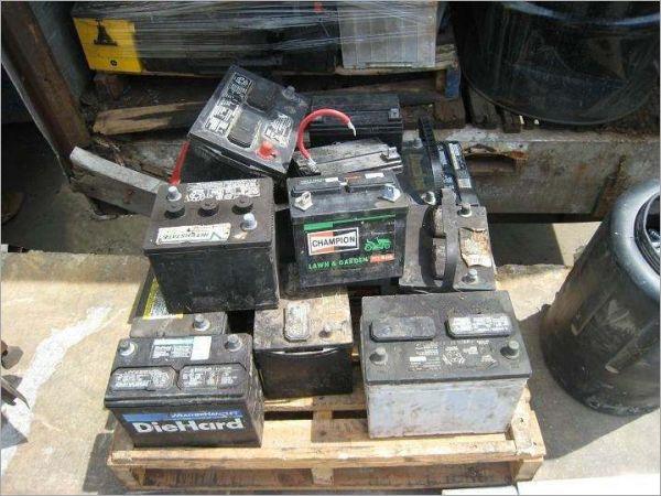 汽车电池回收