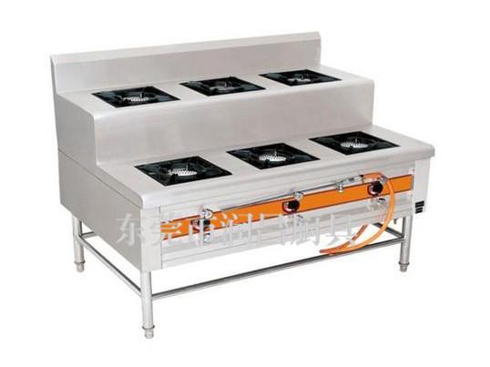 煤氣六頭煲仔爐