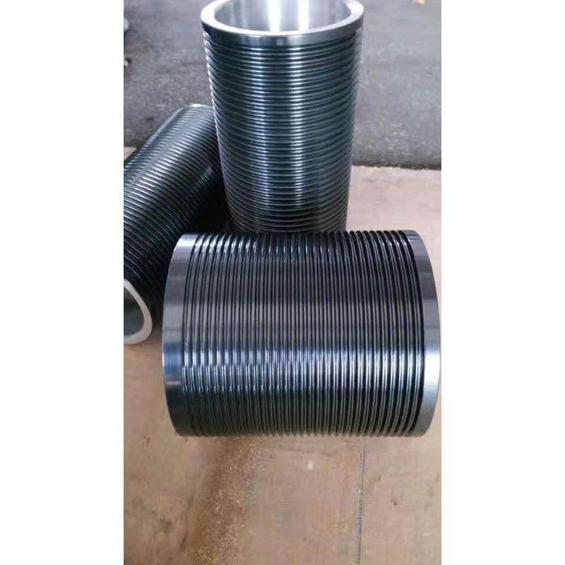 喷陶瓷铝导轮生产商_润文机械_尼龙_石墨_陶瓷喷涂_包胶