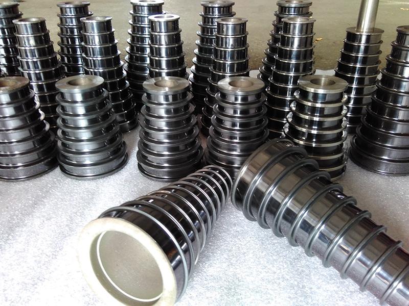 喷陶瓷塔轮厂家直销_润文机械_碳化钨喷涂_喷陶瓷_水箱机塔轮