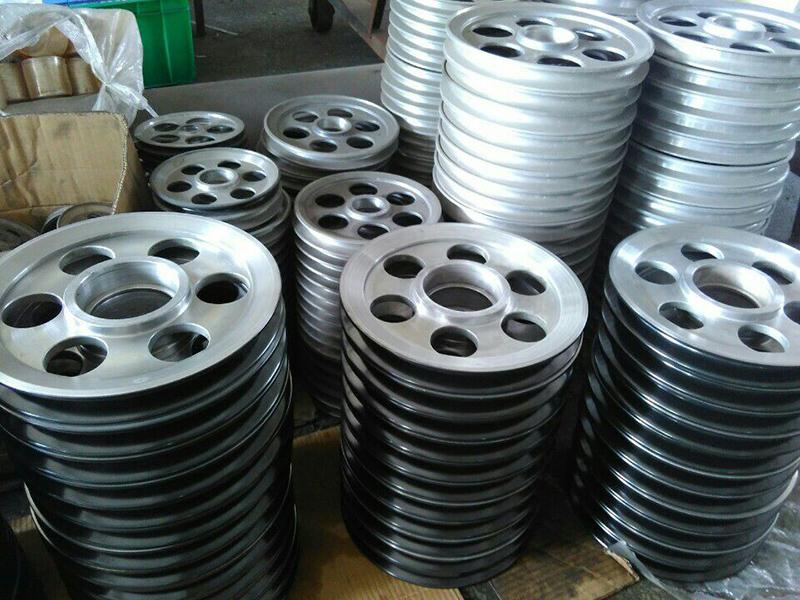 陶瓷噴涂導輪直銷_潤文機械_噴陶瓷鋁_陶瓷噴涂_漆包機分線輪