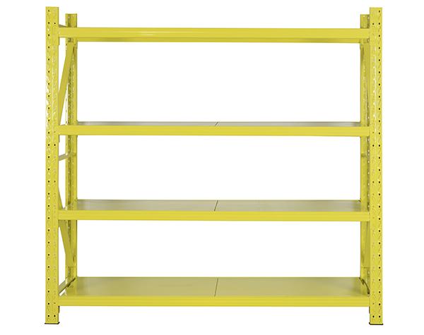 四层黄色货架