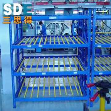 重力式货架生产