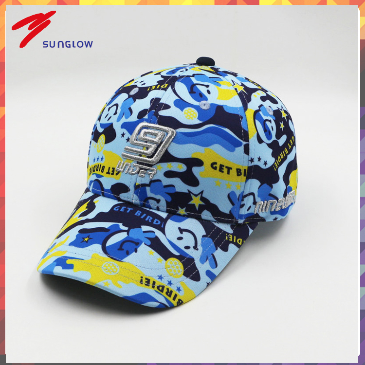 3D embrodiery baseball cap