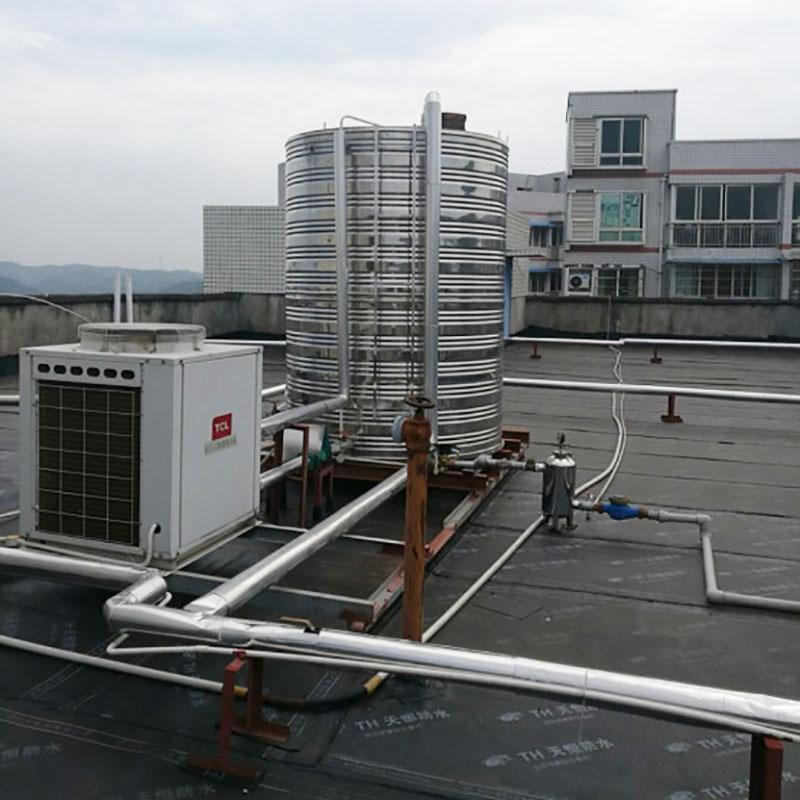 部隊空氣能采暖一平方多少錢_匯高機電_家用_家庭_酒店_學校