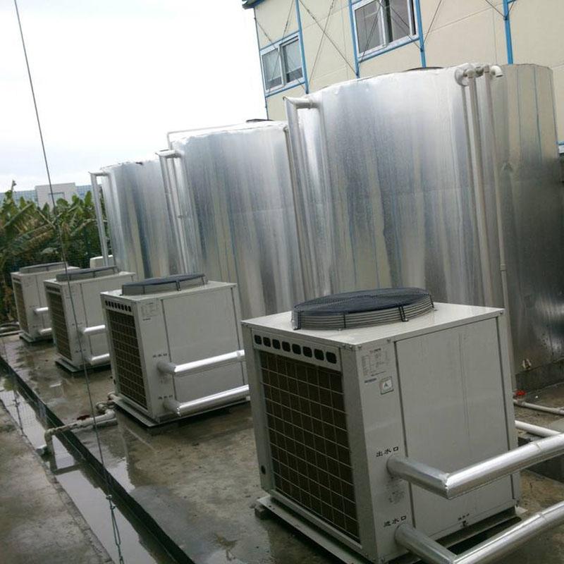 匯高機電_游泳池_自貢熱泵熱水機50噸多少錢