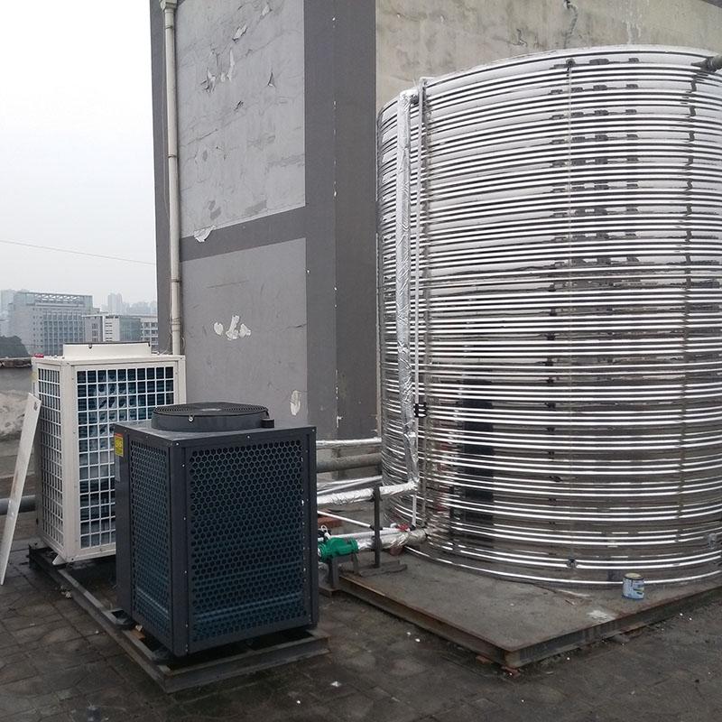 廣元熱泵熱水機哪家好_匯高機電_商用_泳池_游泳池_空氣能_工程