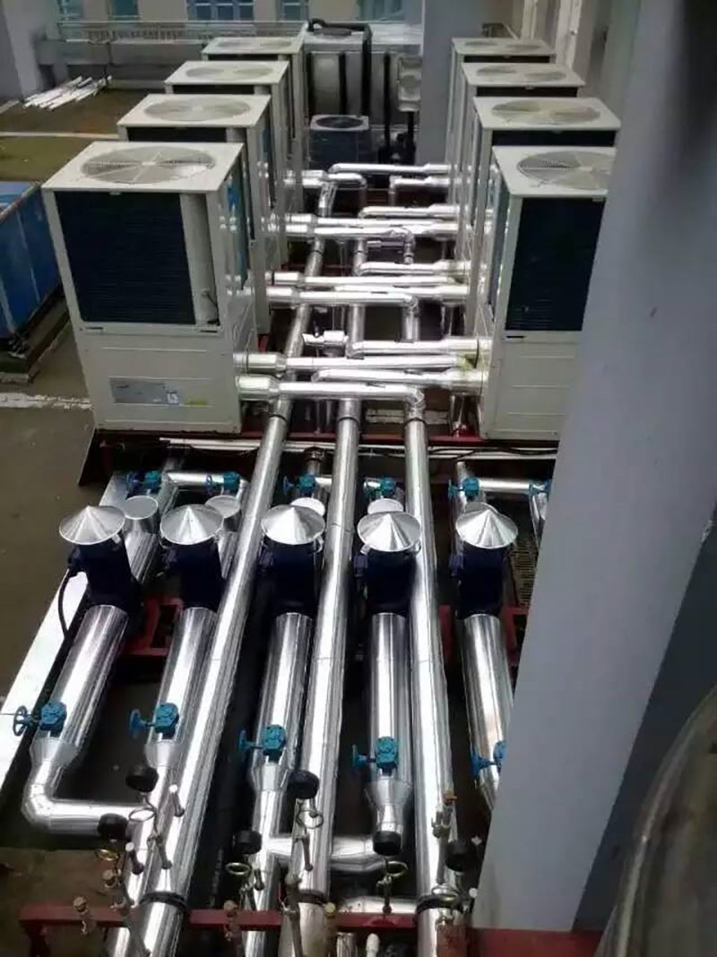匯高機電_商用空氣源熱泵_自貢部隊熱水器5噸多少錢