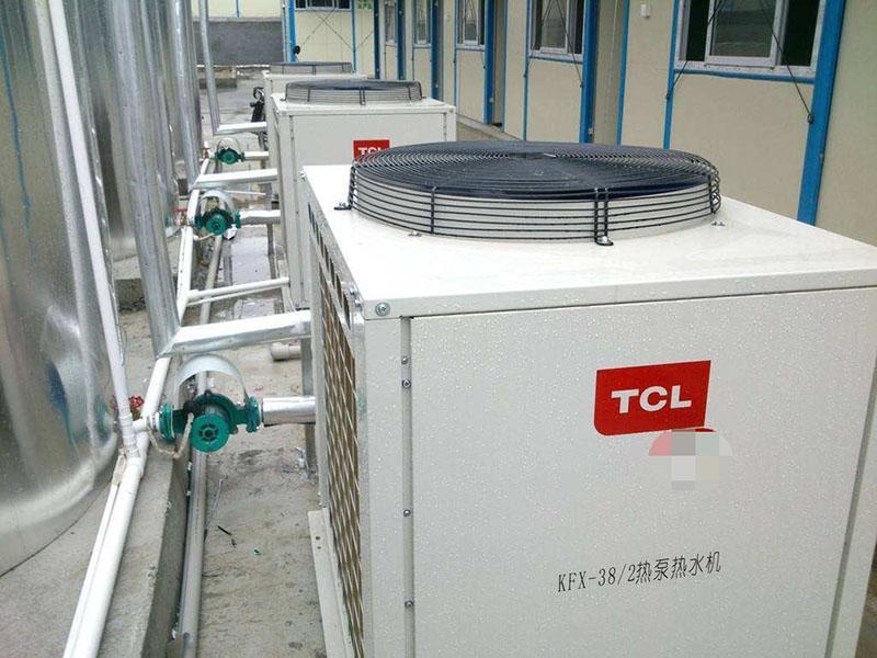 商用_巴中熱泵熱水機系統_匯高機電