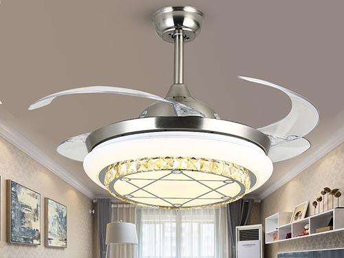 隐形智能吊扇灯1075