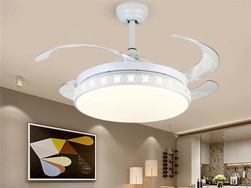 现代隐形吊扇灯1080