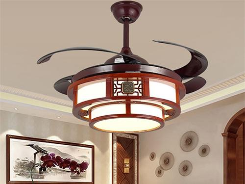 新中式吊扇灯1071